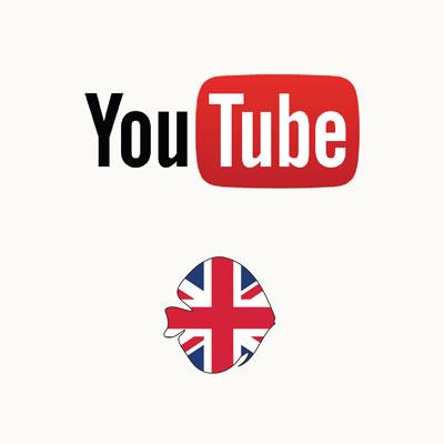 Thumbnail: Engelstalige YouTube video's