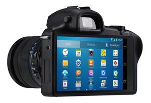 Aquarium fotografie hardware: Smart systeemcamera, Samsung Galaxy NX 6