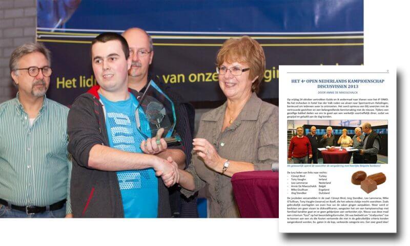 Afbeelding: Prijs Prijsuitreiking Openen Nederlandse Kampioenschap Discusvissen 2013