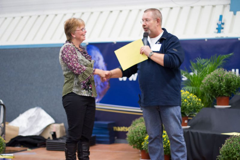 Prijsuitreiking Ruto aquarium wedstrijd 2011