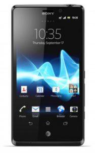 Aquarium fotografie hardware: Smartphone, Sony Xperia