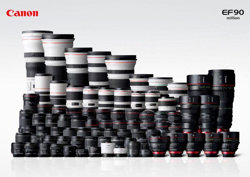 Aquarium fotografie hardware: Canon lenzen