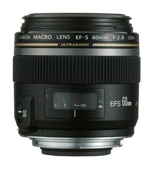 Aquarium fotografie hardware: Macroles Canon EFS 60mm