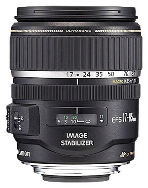Aquarium fotografie hardware: Zoomlens Canon EFS 17-85mm
