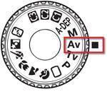 Aquarium fotografie illustratie: Pictogram camera diafragma aanpassen