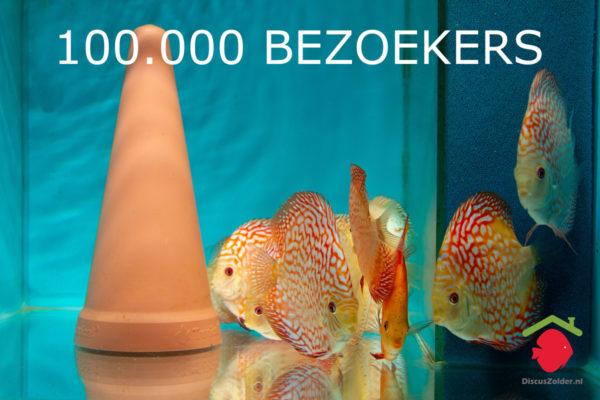 100.000ste bezoekers op Discuszolder.nl