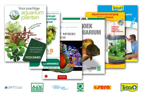 Informatiebrochures voor de aquariumliefhebber